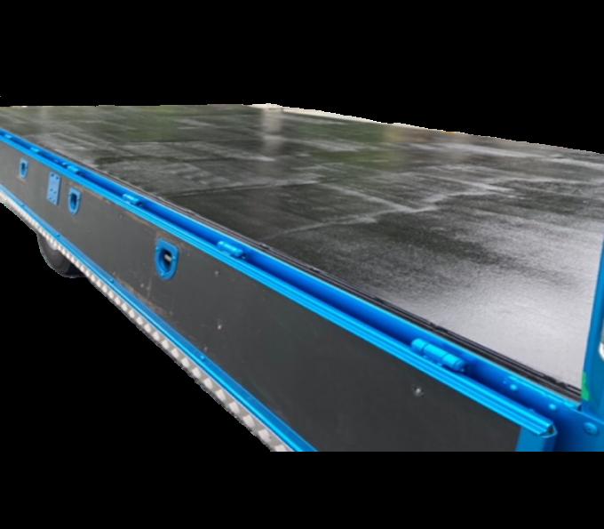 床板鉄板張り加工